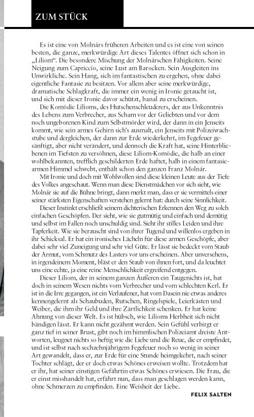 #32: Liliom (Franz Molnar)