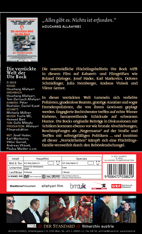 #176: Die verrückte Welt der Ute Bock (Houchang Allahyari)