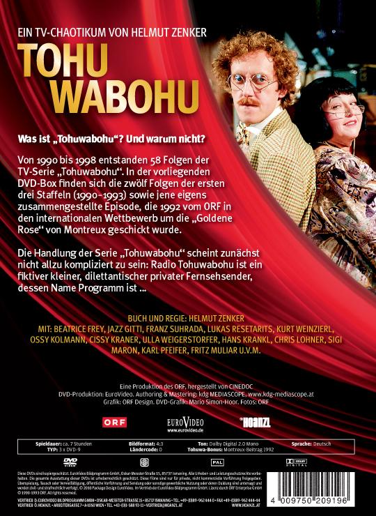 Tohuwabohu: Staffel 1-3 (Folgen 01-12)