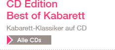 CD Edition Best of Kabarett