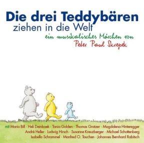 Die drei Teddybären ziehen in die Welt