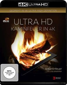 Kaminfeuer (4K UHD)