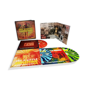Try A Little Sunshine - The British Psychedelic Sounds Of 1969: 3CD Clamshell Boxset