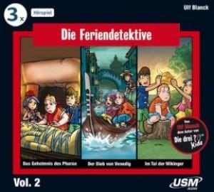Die grosse Feriendetektive Hörbox Folge 4-6