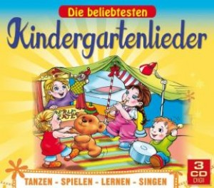 Die beliebtesten Kindergartenlieder