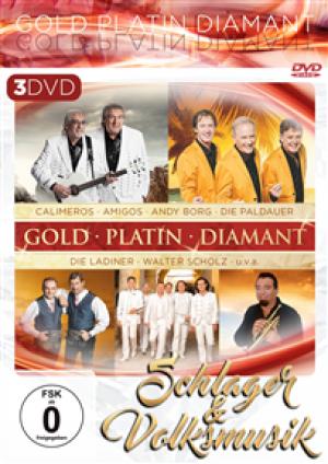 Schlager & Volksmusik - Gold Platin Diamant