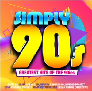 Simply 90s - Greatest Hits Of The 90ies