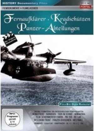 Fernaufklärer, Kradschützen, Panzer-Abteilungen