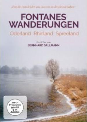 Fontanes Wanderungen: Oderland - Rheinland - Spreeland