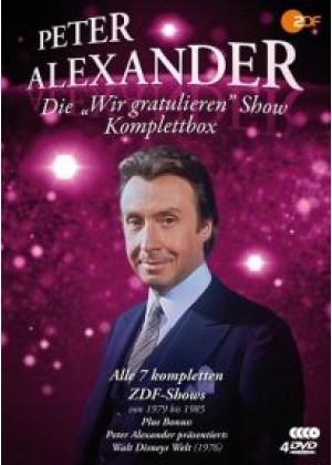 """Die """"Wir gratulieren"""" Show: Komplettbox"""