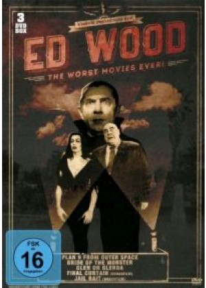 Ed Wood 5 Movie Collection 3-DVD-Box