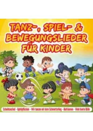 Tanz-, Spiel- & Bewegungslieder für Kinder