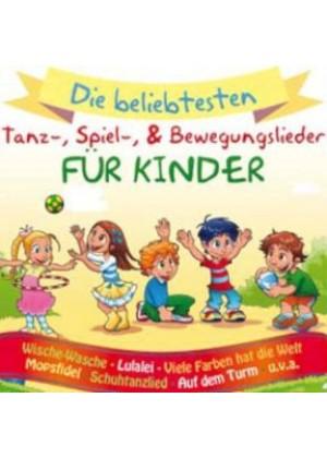 Tanz-, Spiel- und Bewegungslieder für Kinder
