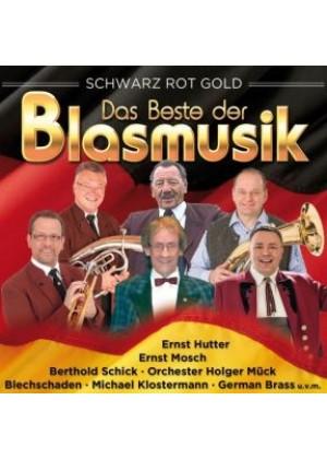 Das Beste der Blasmusik - schwarz rot gold