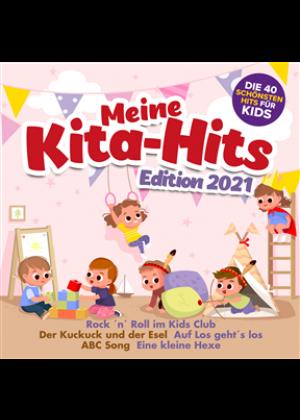 Meine Kita Hits Edition 2021 - die 40 schönsten Hits für Kids