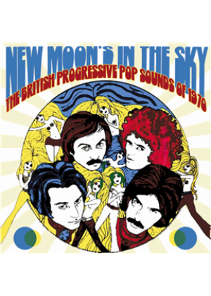 New Moon's In The Sky - The British Progressive Pop Sounds Of 1970: 3CD Clamshell Boxset