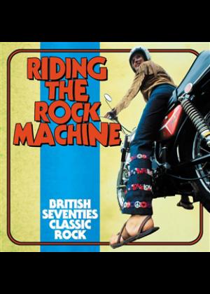 Riding The Rock Machine: British Seventies Classic Rock - 3CD Clamshell Boxset