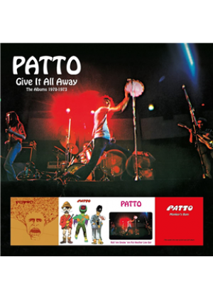 Give It All Away - The Albums 1970-1973: 4CD Clamshell Boxset
