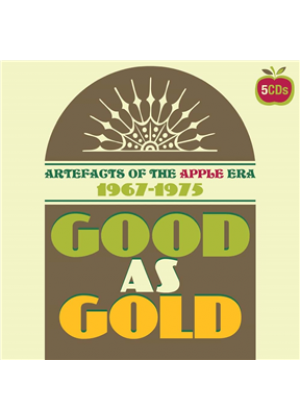 Good As Gold - Artefacts Of The Apple Era 1967-1975: 5CD Clamshell Boxset